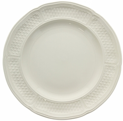Pont Aux Choux White Dessert Plate by Gien France