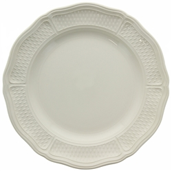Pont Aux Choux White Dinner Plate by Gien France