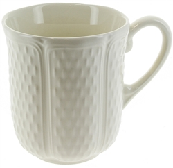 Pont Aux Choux White Mug by Gien France