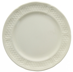 Pont Aux Choux White Canape Plate by Gien France