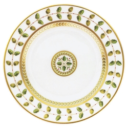 Constance Green Dinner  Plate by Bernardaud