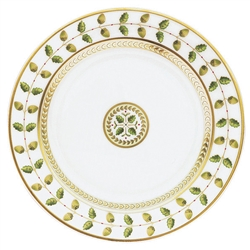 Constance Green Salad Plate by Bernardaud