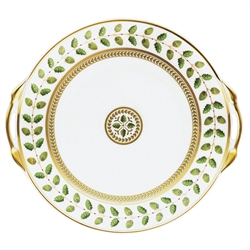 Constance Cake Plate with Handles by Bernardaud