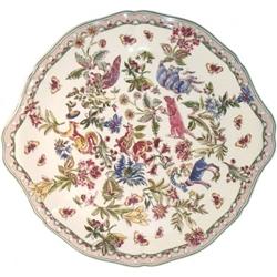 Jardin Imaginaire Cake Platter by Gien France ...  sc 1 st  Sallie Home & Gien France - Jardin Imaginaire