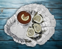 Oyster with Pearl Chip & Dip by Arthur Court Designs