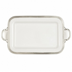 Tuscan Rectangular Tray with Handles by Arte Italica