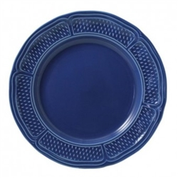 Pont Aux Choux Blue Dinner Plate by Gien France