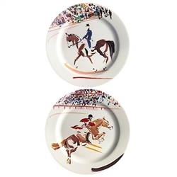 Cavaliers Bottle Coasters (Set of Two) by Gien France