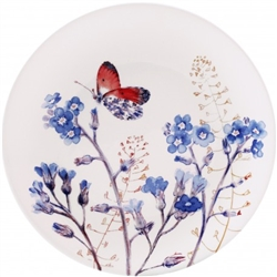 Azure Canape Plate by Gien France