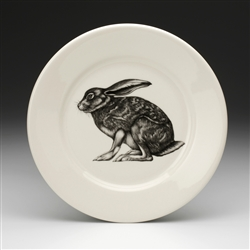 Crouching Hare Salad Plate by Laura Zindel Design