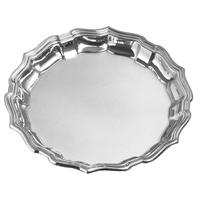 "Chippendale 14"" Tray by Salisbury Pewter"