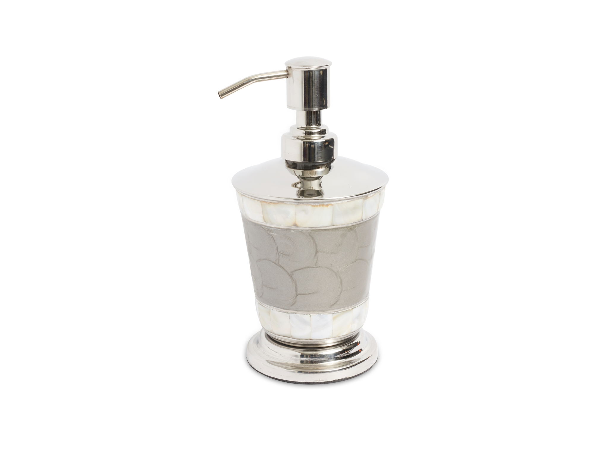 Julia Knight Classic Soap Lotion Dispenser Platinum