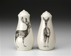 Fallow Deer Salt and Pepper by Laura Zindel Design