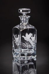 Pheasant Decanter by Julie Wear
