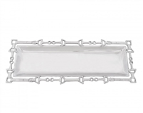 Equestrian Open Oblong Tray by Arthur Court Designs