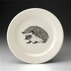 Hedgehog #1 Salad Plate by Laura Zindel Design