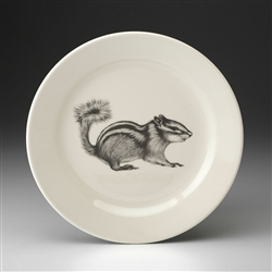 Chipmunk #2 Salad Plate by Laura Zindel Design