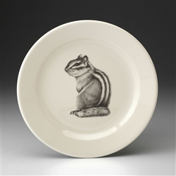 Chipmunk #3 Salad Plate by Laura Zindel Design