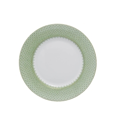 Apple Green Lace Service Plate by Mottahedeh