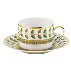 Constance Green Tea Saucer by Bernardaud