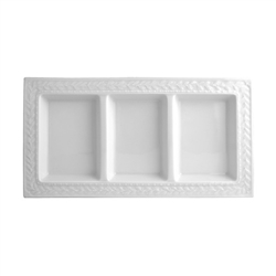 Louvre 3 Section Tray by Bernardaud