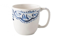 Wanderlust Iberian Journey Indigo Cofftea Cup by Juliska