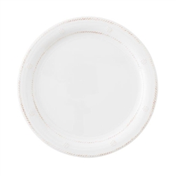 Al Fresco Berry and Thread White Dinner Plate by Juliska