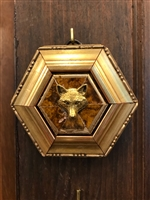 Gilt Wooden Frame with Fox by Museum Bees