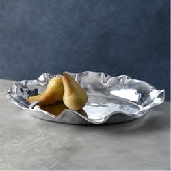 Vento Oval Large Deep Platter by Beatriz Ball