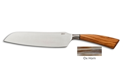 Coltelleria Saladini - Santoku Knife with Ox Horn Handle
