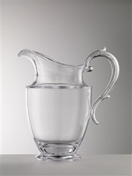 Federica  Clear Pitcher by Mario Luca Giusti