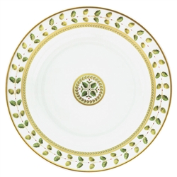 Constance Green Open Vegetable Bowl by Bernardaud