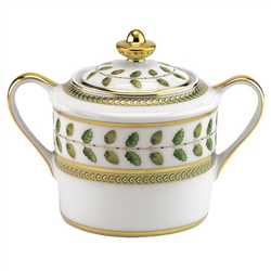 Constance Green Sugar Bowl by Bernardaud