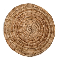 Wrapped Palm Round Natural Placemat by Deborah Rhodes