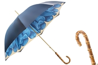 Luxury Blue Dahlia Umbrella by Pasotti
