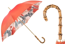 Coral Palm Umbrella by Pasotti