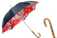 Feather Print Umbrella by Pasotti