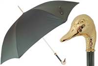 Gold Mallard Umbrella by Pasotti