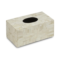 Amala Rectangular Tissue Box Cover by Bunny Williams Home