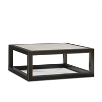 Cream Ming Coffee Table by Bunny Williams Home