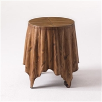Mini Skirt Drinks Table by Bunny Williams Home