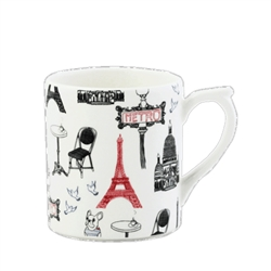 Ca C'est Paris! Mug  by Gien France