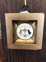 1987 Ryder Cup Golf Marker by Museum Bees