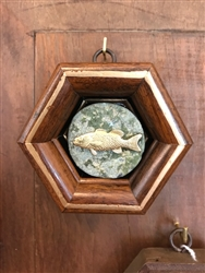 Trout with Wooden Frame by Museum Bees