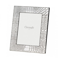 Croco Silver Plated Frame 5x7 by Chirstofle