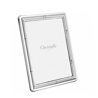 Rubans Silver Plated 8x10 Frame by Chirstofle