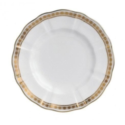 Carlton Gold Bread and Butter Plate by Royal Crown Derby