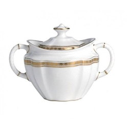 Carlton Gold Sugar Bowl by Royal Crown Derby