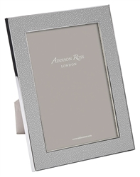 "Faux Shagreen Grey 5""x7"" Frame by Addison Ross"