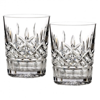 Pair of Lismore DOF by Waterford Crystal